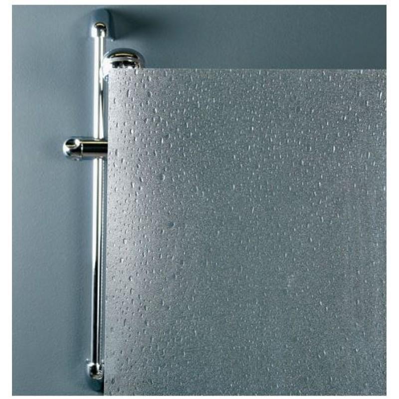 Angolare box doccia due lati scorrevole effetto goccia