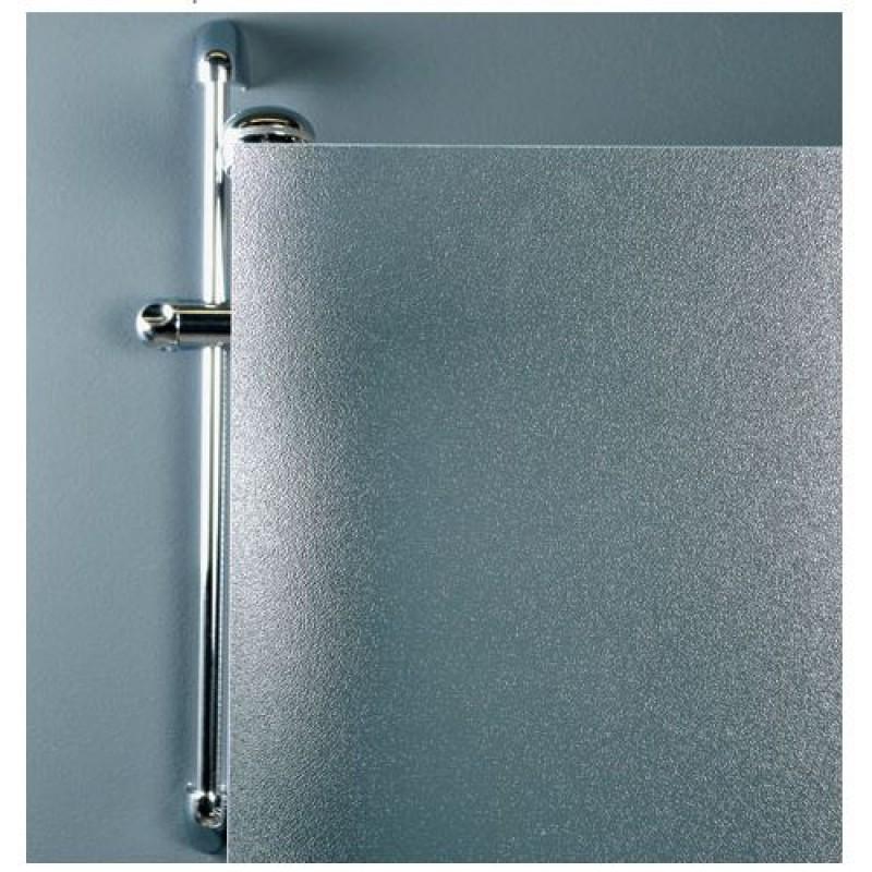 Semci box doccia due lati semicircolare cristallo stampato c for Box doccia cristallo