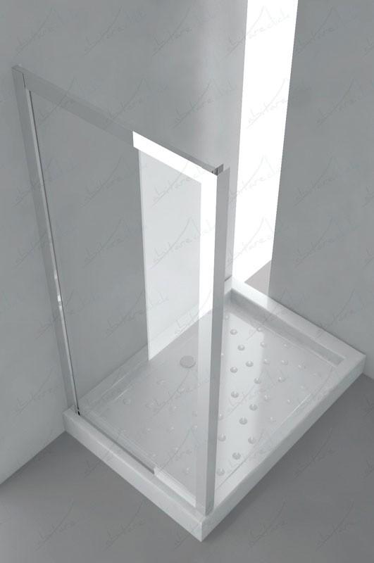 Box Doccia Cristallo Anta Fissa : Anta fissa s box doccia deluxe cristallo acidato