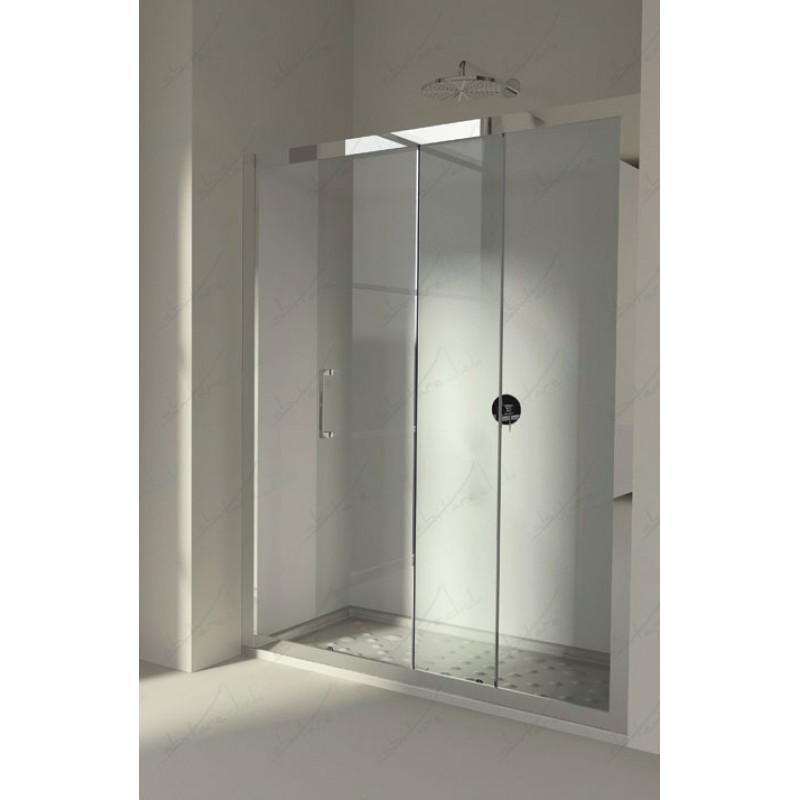 Parete Doccia Cristallo: Soluzioni con pareti doccia in cristallo e piatti di grandi.