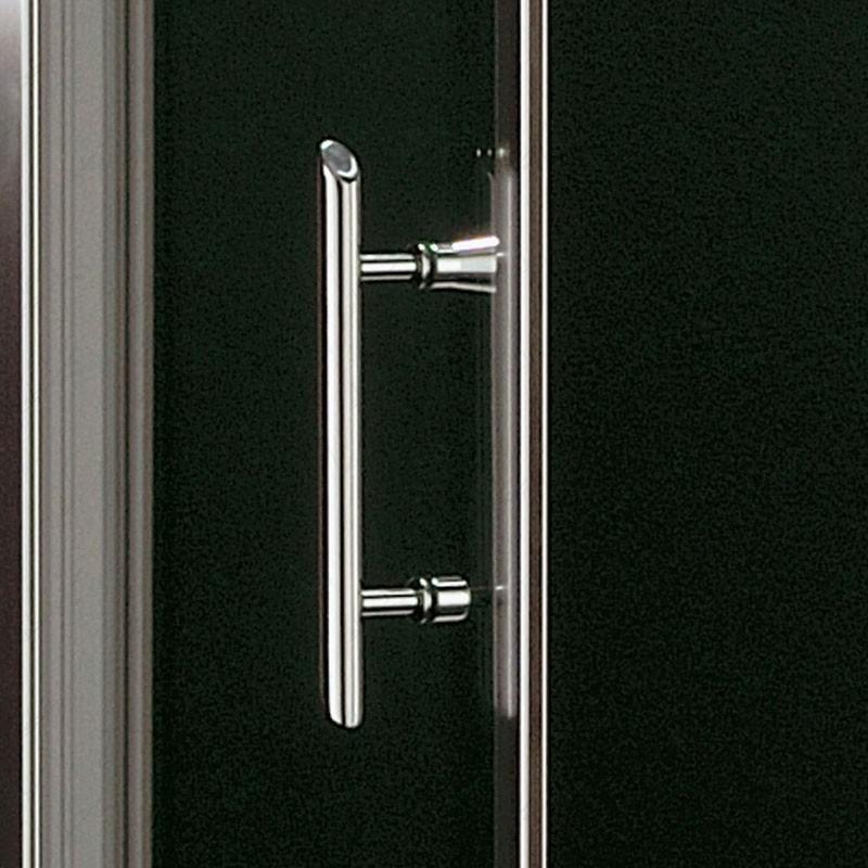 Aura box doccia un lato due ante cristallo acidato - Ante per doccia ...