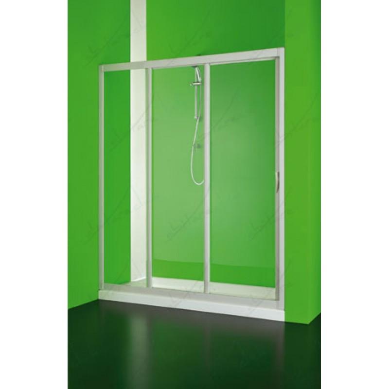 3 pan box doccia un lato scorrevole apertura laterale for Box doccia scorrevole