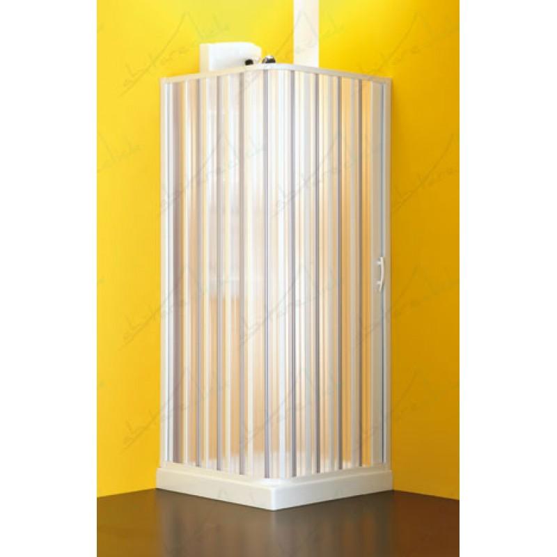 Apertura laterale box doccia due lati a soffietto for Tapparelle per cabina
