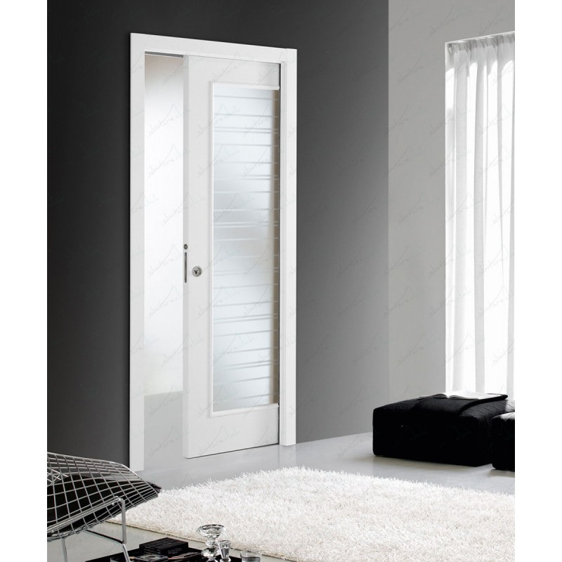 Liscio vetro porta interna laminata vetro escluso - Vetro porta interna ...