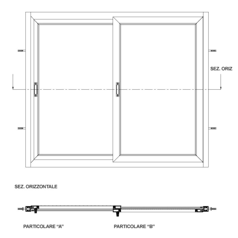 Dimensioni finestre perfect le misure delluuomo esempi - Altezza di una finestra ...