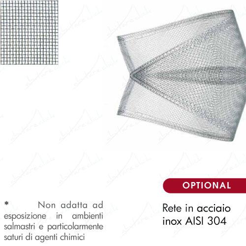 rete acciao inox