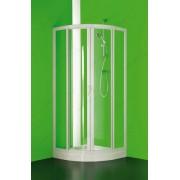 Immagine CIRCO Box Doccia Due Lati Semicircolare Cristallo Trasparente
