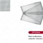 rete in alluminio brunito -  PORTINA N.2 ANTA Zanzariera Pannello a Battente